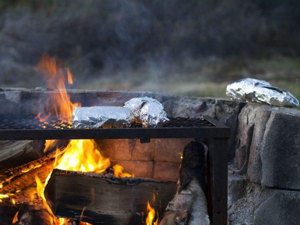 Solange du dich vorher informierst, kannst du Grillfolien auch auf Holzkohlegrills verwenden. (Photo by felipepelaquim / Unsplash)